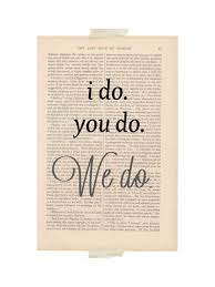 wedding book quotes quote wedding decor dictionary by exlibrisjournals