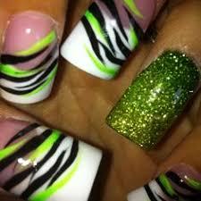 31 gorgeous black and green nail art designs leona del sol