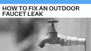 How To Replace A Water Faucet Outside To Fix An Outdoor Faucet Leak