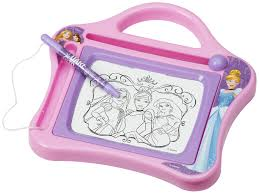 disney childrens kids travel etch a sketch magnetic drawing board