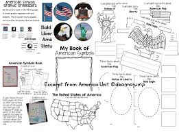 American Flag To Color American Symbols U0026 Presidents Includes Free Download Mrs