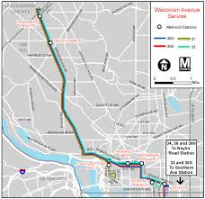 Washington Dc Bus Map by Planitmetro Major Changes Coming For Metrobus Routes 32 And 36