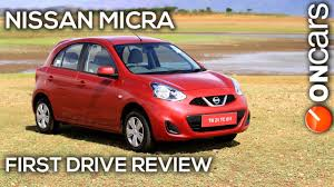 nissan micra review canada 2013 nissan micra facelift first drive review by oncars india