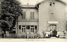 numero bureau de poste amanvillers 57 moselle cartes postales anciennes sur cparama