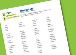 adverbs list for kids super easy storytelling