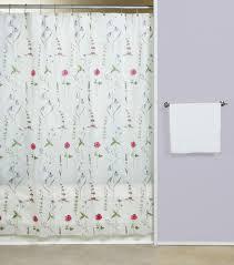 Vinyl Shower Curtains Poppies Vinyl Shower Curtain Curtain Bath Outlet