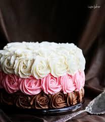neapolitan rose cake i am baker