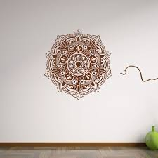 Wall Decals Mandala Ornament Indian by Compare Prices On Wall Stickers Home Flowers Online Shopping Buy
