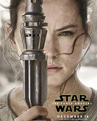 star wars 7 character posters han leia and a trio of youngsters