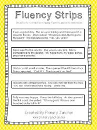 ideas of teaching strategies to increase reading fluency with