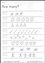 writing worksheets for pre k worksheets
