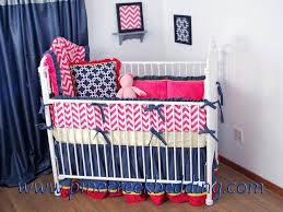 chevron pink baby bedding 9 piece crib bedding set pink chevron
