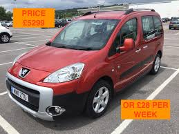 peugeot partner 2009 used peugeot partner tepee cars for sale in bognor regis west