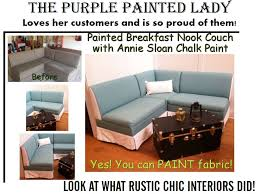Paint On Leather Sofa Chalk Paint On Leather The Purple Painted