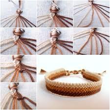 woven bracelet tutorials images How to make easy weave bracelet step by step diy tutorial jpg