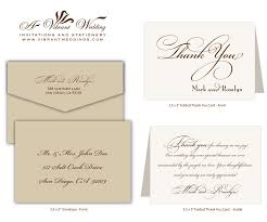 Wedding Card Examples Wedding Thank You Cards Captivating Thank You Wedding Card