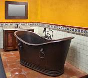 Copper Bathtubs For Sale Copper Sinks Mexican Tile Copper Bathtubs Copper Mirrors