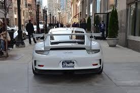 white porsche 2016 2016 porsche 911 gt3 rs stock 92587 for sale near chicago il