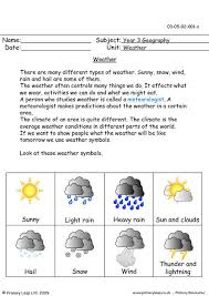 bunch ideas of extreme weather for kids worksheets in template