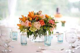 Flower Arrangements Home Decor Holiday Flowers Melanie Benson Floral Design Orange Send Table