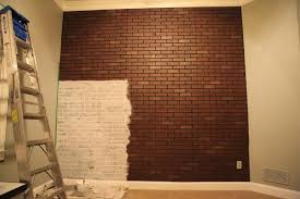Faux Paint Ideas - awesome faux painted brick wall wall painting ideas