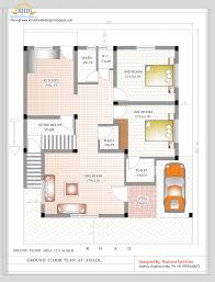 Floor Plans For 1500 Sq Ft Homes Duplex House Plan And Elevation 2349 Sq Ft Kerala Home