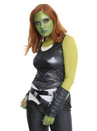 gamora costume marvel guardians of the galaxy vol 2 gamora costume hot topic