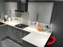 light grey acrylic kitchen cabinets kb kitchens on light grey acrylic kitchen with