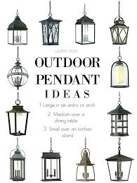 Large Outdoor Pendant Lights Outdoor Hanging Pendant Lights Clear Glass Outdoor Hanging Pendant