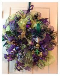 mardi gras mesh deco mesh mardi gras wreath mesh garland mardi housewares