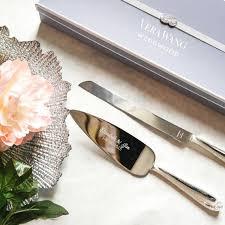 wedding cake knife set vera wang wedding cake knife set twoumbrellascafe