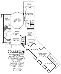 Second Story Floor Plans by Rivermere Manor House Plan House Plans By Garrell Associates Inc