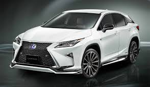 lexus rx black 2015 lexus rx trd bodykit debuts gets improved stability