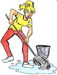 mop the floor clipart 35