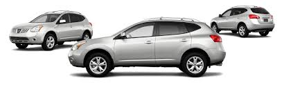 Nissan Rogue White - 2010 nissan rogue awd sl 4dr crossover research groovecar