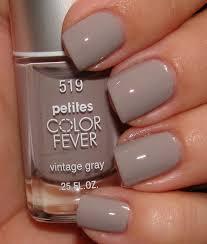 petite nail polish petites color fever in vintage gray 3 99