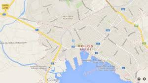 volos map volos important port city world easy guides