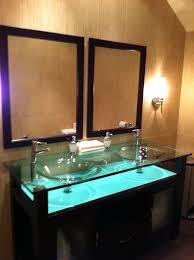 to da loos bamboo tiles and fake wood floor porcelaine tiled bathroom