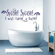 Shopping Online For Home Decor Interior Bathroom Wall Decals Intended For Fascinating Trending