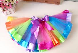 ribbon tutu online cheap new style ribbon tutu skirt baby rainbow tutus