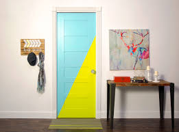 Accent Door Colors by Colorfully Behr Two Tone Accent Door