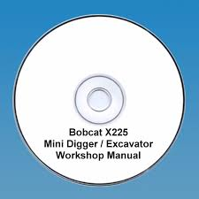 bobcat x225 mini digger workshop manual 112534974489 5 99
