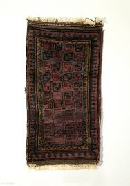 Antique Washed Rugs Small Afghan Baluch Rug Circa Antique 5x2 Gul Patterned Field