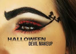 halloween maquilhagem inspirada diabo youtube