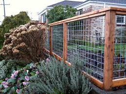love this fence the wire panels are available at your local