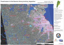 Buenos Aires Map Flood Waters In The Buenos Aires Province Argentina August 15th
