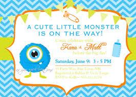 Baby Shower Invitation Cards U2013 Monster Inc Baby Free Printable Invitation Design