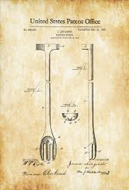 Kitchen Chef Decor by Cooking Batter Spoon Patent Kitchen Decor Restaurant Decor Bar
