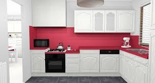 cuisine blanche et mur gris awesome cuisine blanche mur violet photos pretty