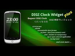 digi clock widget apk digi clock widget